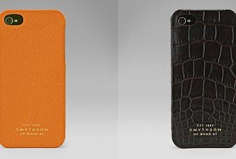the latest e4c08 fcdcc Stylish iPhone 5 Cases from Smythson - Paperblog