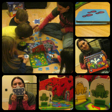 PicMonkey Collage2 Orchard Toys Spooky Steps Game Review
