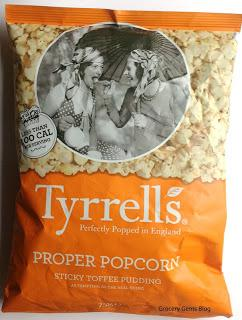 Tyrells Proper Popcorn Sticky Toffee Pudding Review