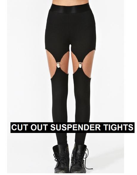 Suspender tights tumblr