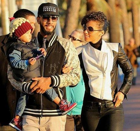 Celeb Style: Swizz Beatz spotted in Europe with wife, Alicia...