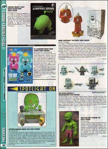 January 2013 Previews