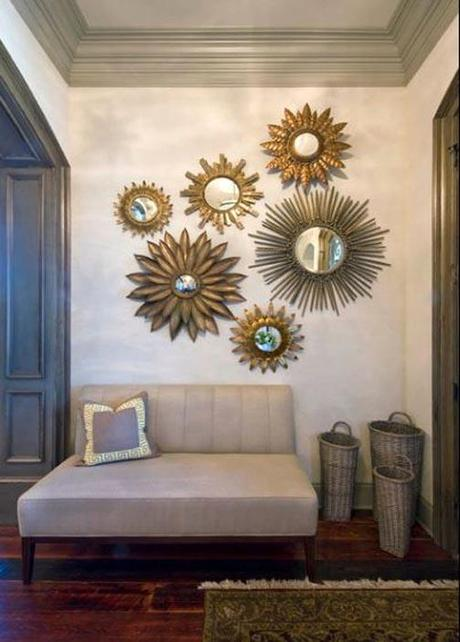 Using Sunburst Mirrors in Your Home Decor Paperblog