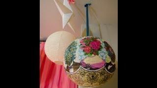 decoupage 9 DIY Ways to Dress Up a Lantern   Fun & Festive!