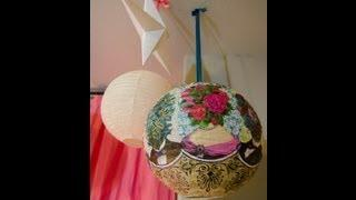 decoupage 9 DIY Ways to Dress Up a Lantern   Fun & Festive!