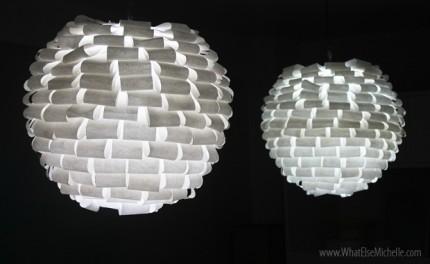 diy paper lamp4 430x264 9 DIY Ways to Dress Up a Lantern   Fun & Festive!