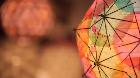 umbrella lantern 9 DIY Ways to Dress Up a Lantern   Fun & Festive!