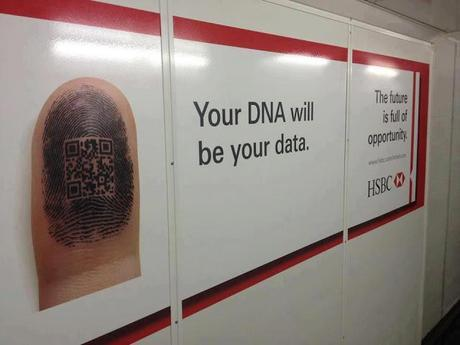 HSBC - your dna will be your data