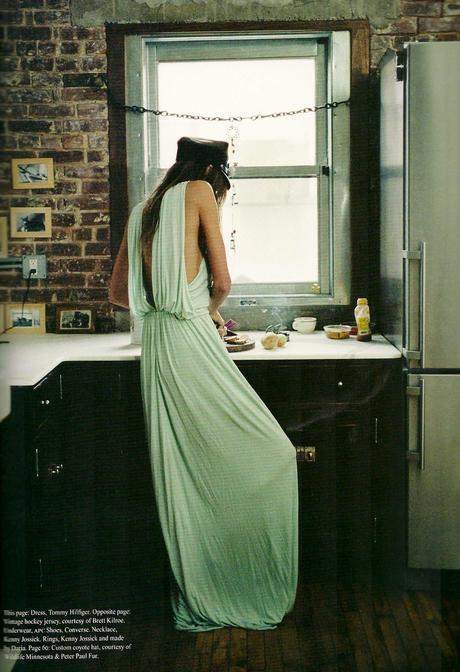 Daria Werbowy by Cass Bird