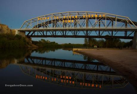 Ocean to Ocean Bridge Yuma Arizona