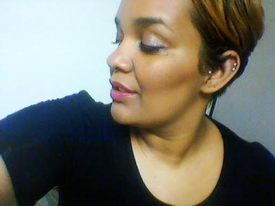 Day 1: MAC Hot Tahiti Lipstick
