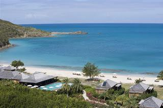 tropical Caribbean vacation spot