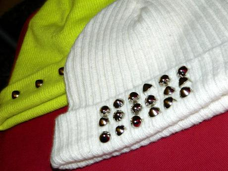 studded beanie