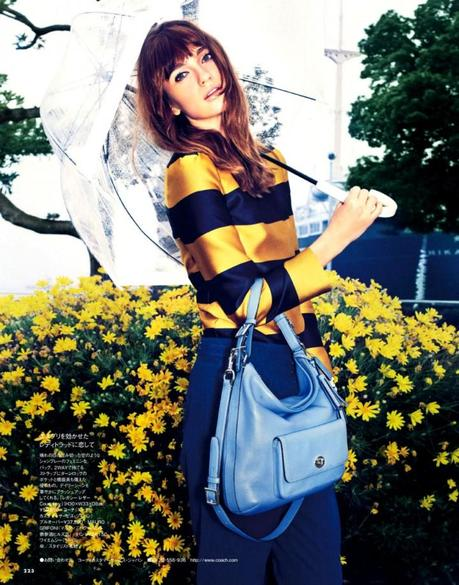 Ella Kandyba by Tak Sugita for Elle Japan March 2013 6