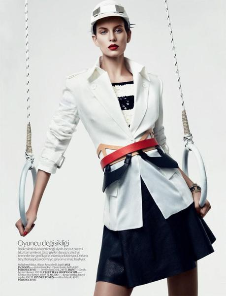 Ellinore Erichsen for Vogue Turkey February 2013 by Umit Savaci 4