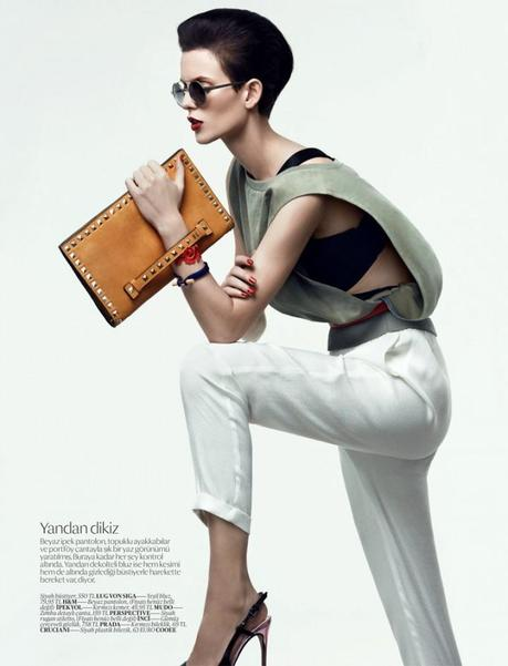 Ellinore Erichsen for Vogue Turkey February 2013 by Umit Savaci 2