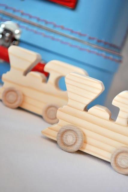 Landon's Train Themed Birthday by Prop Shop Boutique