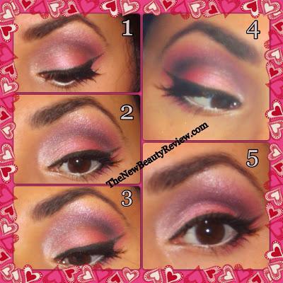 Valentine's Day Sweetheart Look-Using Prestige Cosmetics