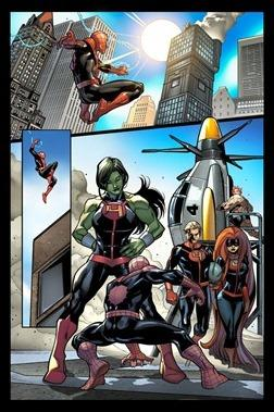 Avenging Spider-Man #17 Preview 1