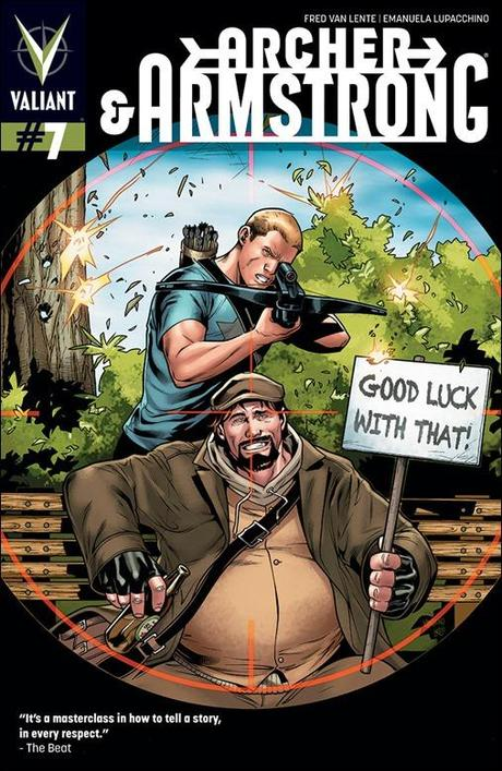 Archer & Armstrong #7 Cover