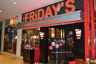 TGIFriday's now in Cagayan de Oro.  OH YES!!