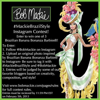 Bob Mackie Announces Instagram Contest to Win Limited Edition Barbie