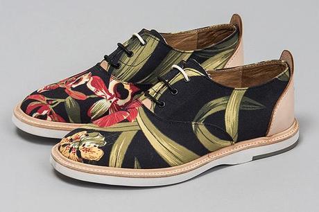Thorocraft Floral Print Hampton Shoe