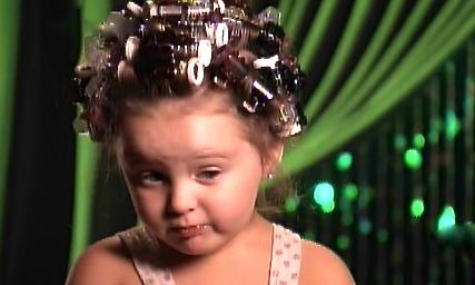 Toddlers & Tiaras: Hey, Girl. When The Cheetah-licious Pageant Lady Calls, You Better Answer Yo' Monkey Phone.