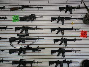 Automatic rifle show