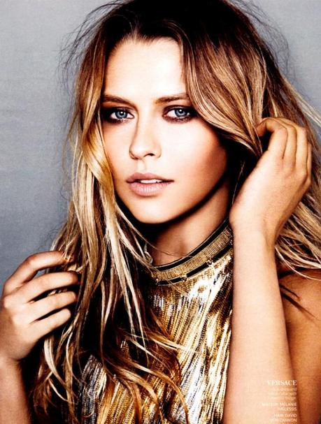Teresa Palmer by Kai Z. Feng for InStyle US March 2013