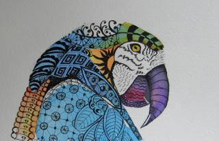 Parrot tangle