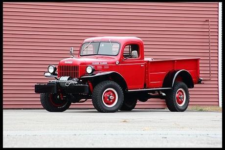 1952 Dodge Model B-3 Power Wagon