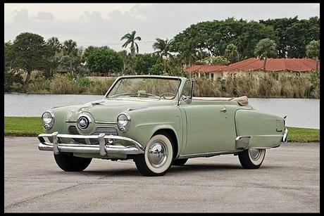 1951 Studebaker Commander Convertible