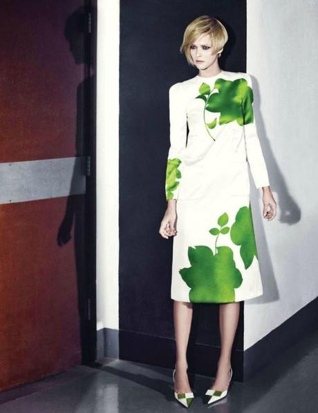 Carmen Kass by Choi Yongbin for Harper's Bazaar Korea February 2013