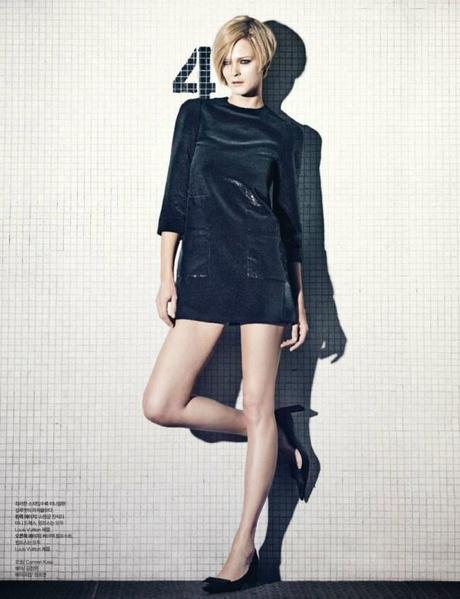 Carmen Kass by Choi Yongbin for Harper's Bazaar Korea February 2013  4