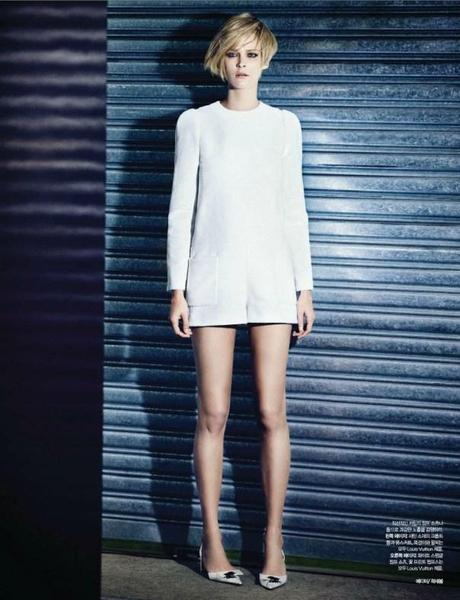 Carmen Kass by Choi Yongbin for Harper's Bazaar Korea February 2013  2