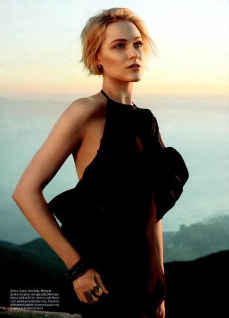 Evan Rachel Wood by Hilary Walsh for Cosmopolitan US March 2013