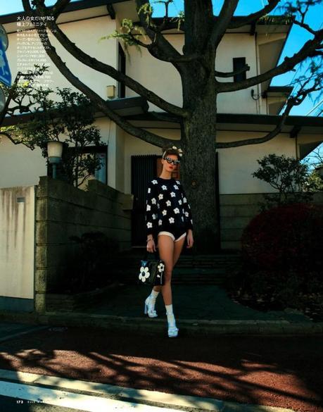 Elena Bartels by Tisch for Elle Japan March 2013 2