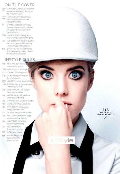 Agyness Deyn by Rankin for InStyle UK March 2013 4