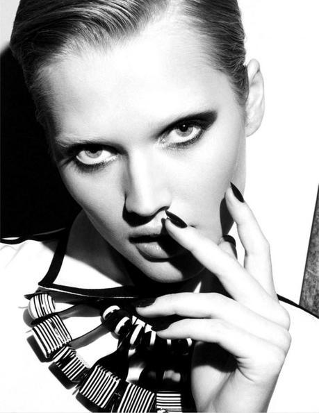 Toni Garrn by Nagi Sakai for Vogue Mexico February 2013 5
