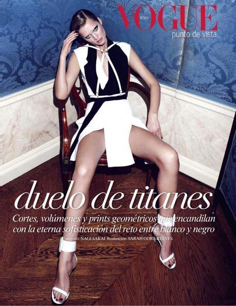 Toni Garrn by Nagi Sakai for Vogue Mexico February 2013 2
