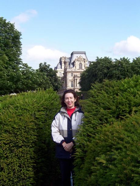 Louvre - Jean at The Tuileries gardens - Paris - France