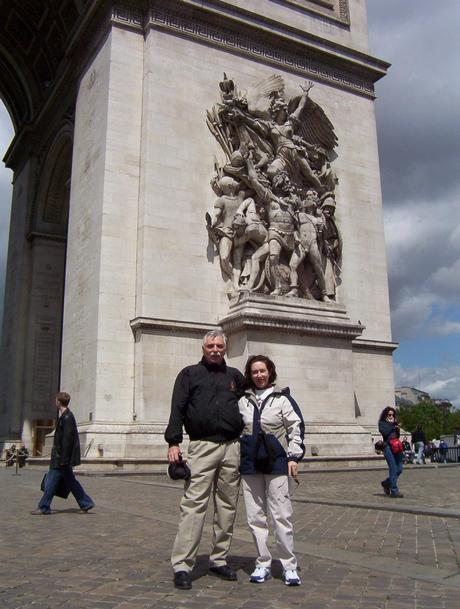 Arc de Triomphe - Bob and Jean - Paris - France