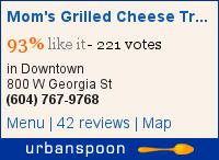 Mom's Grilled Cheese Truck on Urbanspoon