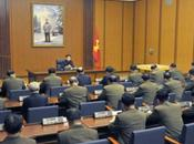 Jong Chairs Meeting Party Central Military Commission Senior Command
