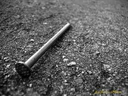 A Nail in the Road