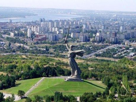 Mamemh Hill monument, Volgograd Russia.