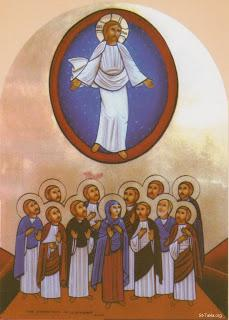 The `Ascension' of Jesus