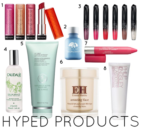 MOST HYPED BEAUTY PRODUCTS