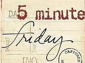 Five Minute Friday: Afraid